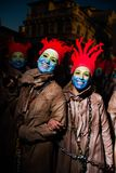 Viareggios karneval, upplaga 2019 royaltyfri fotografi