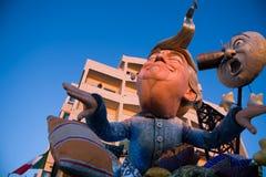 Viareggios karneval, upplaga 2019 royaltyfri foto