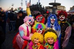 Viareggios karneval, upplaga 2019 fotografering för bildbyråer