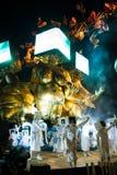 Viareggios karneval, upplaga 2019 royaltyfri bild