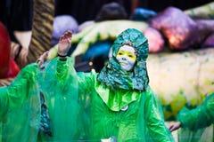 Viareggios karneval, upplaga 2019 royaltyfria bilder