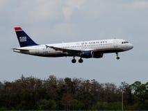 Vias aéreas Airbus A320-214 dos E.U. Imagem de Stock