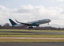 Vias aéreas Boeing 767-300 de First Choice Imagem de Stock