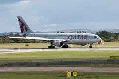 Vias aéreas A330 de Qatar Fotos de Stock