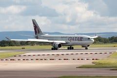 Vias aéreas A330 de Qatar Imagem de Stock Royalty Free