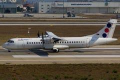 Vias aéreas do Jat Imagens de Stock