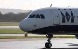 Vias aéreas A321 do monarca Fotos de Stock