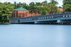 Vias navegáveis & ponte Foto de Stock Royalty Free