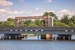 Vias navegáveis & pontes Foto de Stock