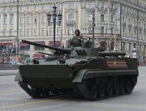Viatura de combate BMP-3 da infantaria Fotografia de Stock Royalty Free