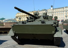 Viatura de combate BMP-3 da infantaria Fotos de Stock Royalty Free