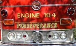 Viatura de incêndio clássica imagem de stock