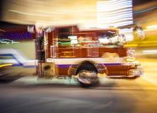 Viatura de incêndio no dever Foto de Stock Royalty Free