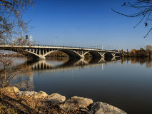 Viau Bridge Montreal Royaltyfria Foton