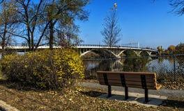 Viau Bridge Montreal Immagine Stock