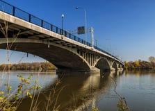 Viau Bridge Montreal Stock Photo