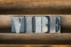 Vibe木盘子 免版税库存照片