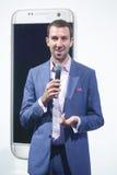 Viber-Aufkleber, Bipa-Mode Stunde, Zagreb, Kroatien Lizenzfreie Stockfotos