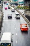 Bangkok, Thailand : Vibhavadi Rangsit Road Royalty Free Stock Images