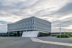 VIBORG, DÄNEMARK - 18. AUGUST 2016: Rathaus von Viborg, Dänemark Stockbild