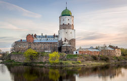 Viborg Medieval castle Royalty Free Stock Photography