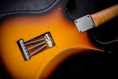 Vibração e molas da guitarra Fotografia de Stock