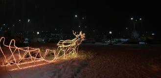 Vibrações do inverno de sarajevo fotografia de stock