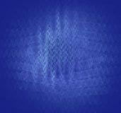 Vibrações - teste padrão de interferência ilustração royalty free