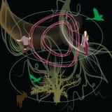 Vibraciones de la naturaleza Imagen de archivo libre de regalías