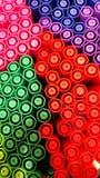 Vibrance seis colores Imagen de archivo libre de regalías