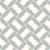 Vibrant Abstract Colorful Stripe Lines Mesh Web Pattern Background. Vibrant Abstract Colorful Stripes Lines Mesh Web Unique  Fabric Fashion Texture Vector Royalty Free Stock Image