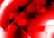 Vibrant abstraction with squares Royalty Free Stock Images