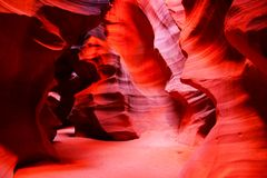 Vibrant Antelope Canyon Stock Photos