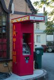 Vibrant ATM stock photo