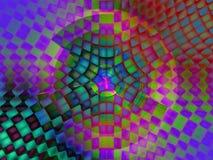 Vibrant background for design artworks. Abstract vibrantl background for various design artworks. Illustration Royalty Free Stock Photos