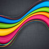 vibrant background on linen texture Royalty Free Stock Photo