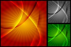 Vibrant backgrounds Royalty Free Stock Photos
