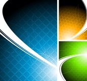 Vibrant backgrounds Stock Images
