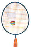 Vibrant Badminton Equipment Stock Photography