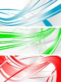 Vibrant banners Stock Image