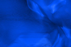 Vibrant Blue Abstract Stock Photo