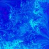 Vibrant Blue Background Stock Image