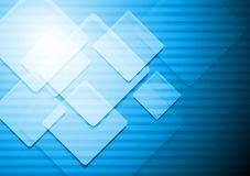 Vibrant blue vector background Stock Image