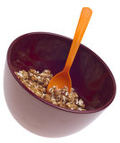 Vibrant Bowl of Breakfast Cereal Royalty Free Stock Photography