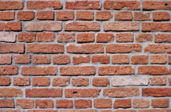 Vibrant bricks. Brickwall, with Vibrant colors effect Royalty Free Stock Photography