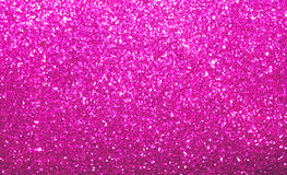 Vibrant bright pink glitter background Stock Images