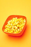 Vibrant Canned Corn Royalty Free Stock Photography