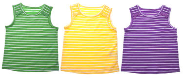 Vibrant Childrens Clothing Royalty Free Stock Photos