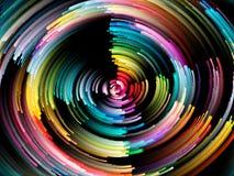 Vibrant Circle Background Stock Photo