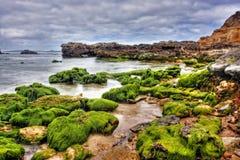 Vibrant coastal vista Stock Photo